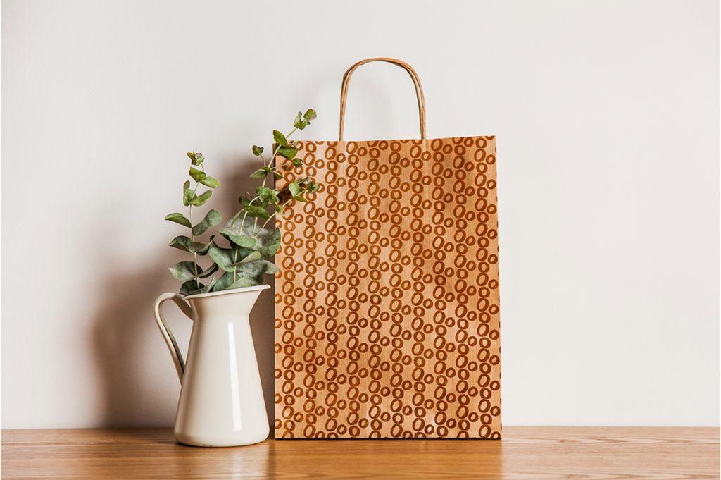 Background Design Bundle Mockups - Shopping bag