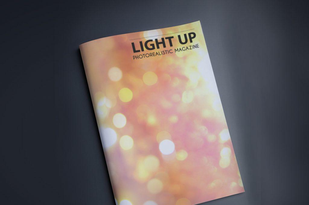 Background Design Bundle Mockups - Magazine Covers