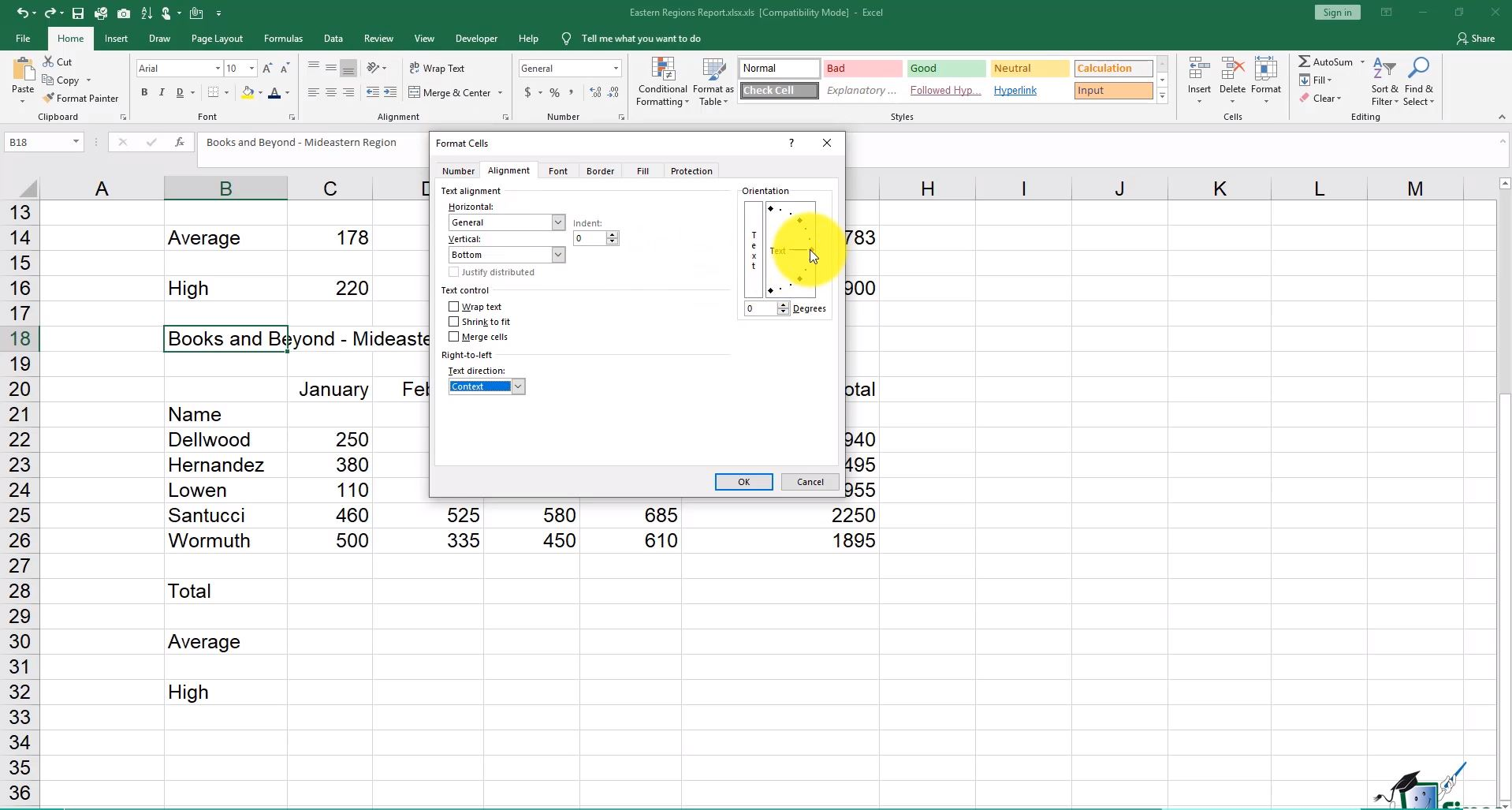 Microsoft Excel 2016 Training Bundle 1