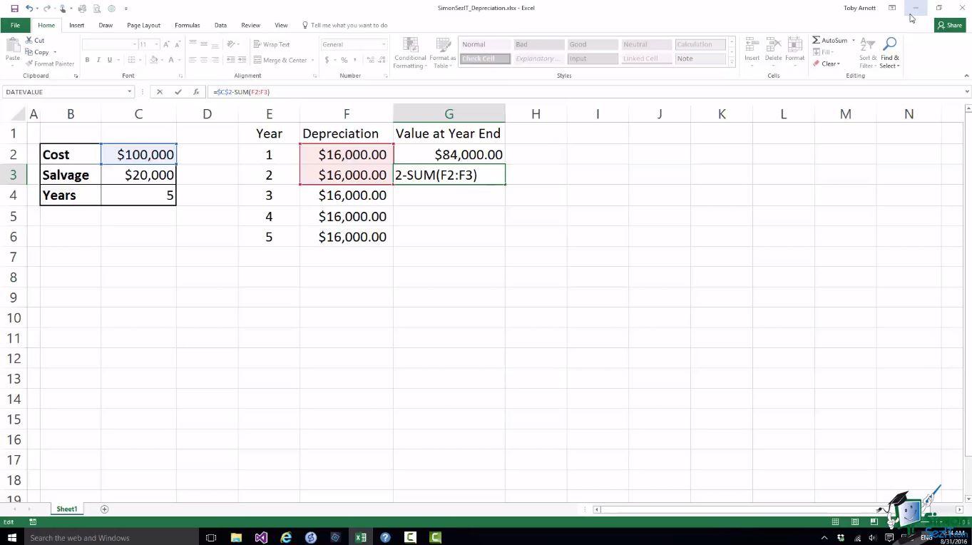 Microsoft Excel 2016 Training Bundle 4