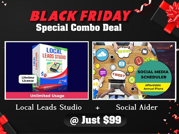 Black Friday Combo Deal