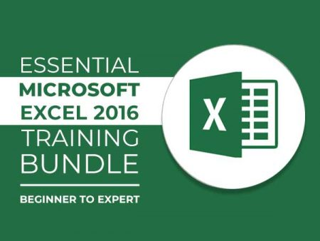 An Essential Microsoft Excel 2016 Training Bundle [ From Beginner To Expert]