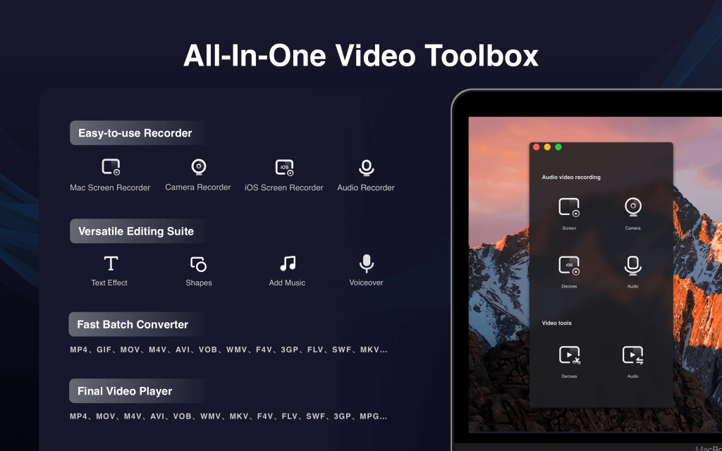 Filmage Screen Recorder & Video Toolbox