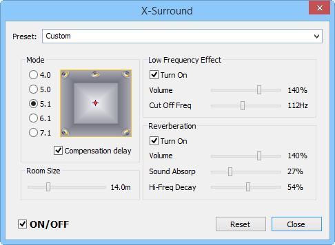 Best Media Player For Windows - X-Surround