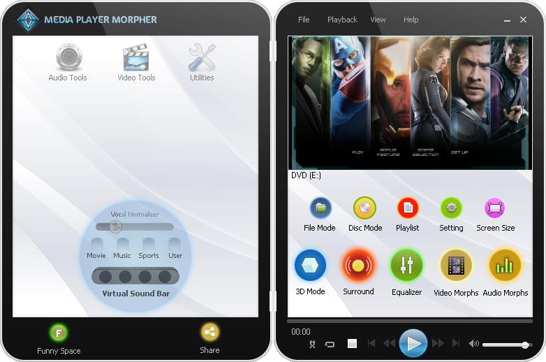 Best Media Player For Windows - Media Player Morpher