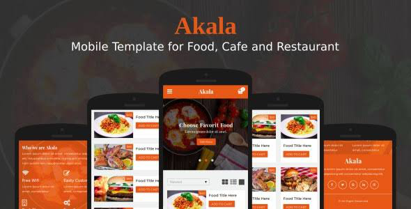 Akala Mobile HTML Template