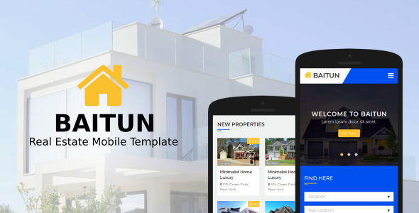 Baitun Mobile HTML Template