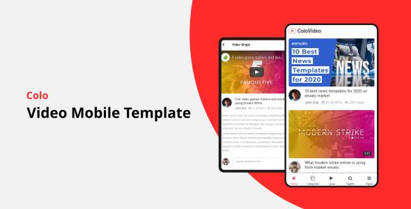 Colo Mobile HTML Template