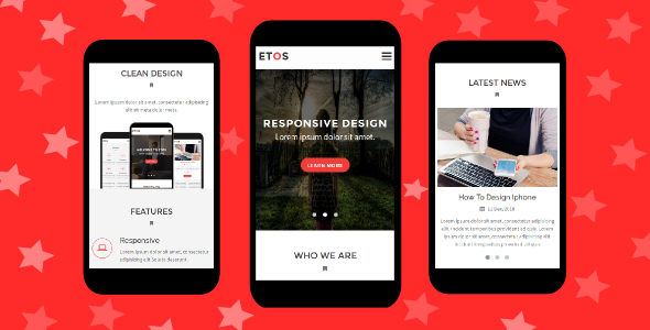 Etos Mobile Template