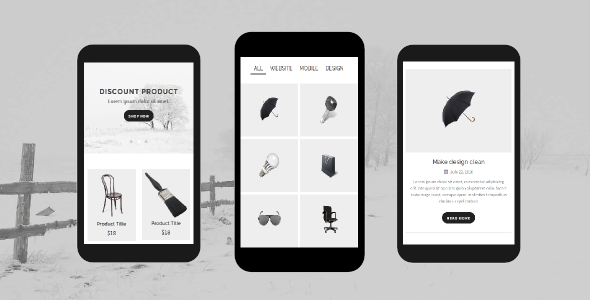 Folio Mobile Template