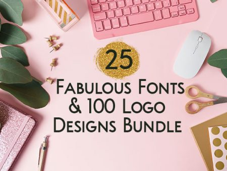 25 Fabulous Fonts And 100 Logo Designs Bundle | DealClub