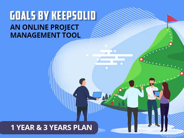 GOALS - An Online Project Management Tool Available In 1 Year/ 3 Years Plans