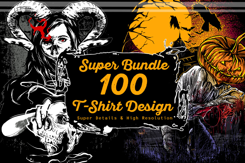 260+ Popular T-shirt Designs Bundle - Bundle 1