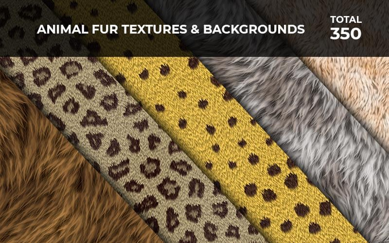 350 Animal Fur Textures & Backgrounds