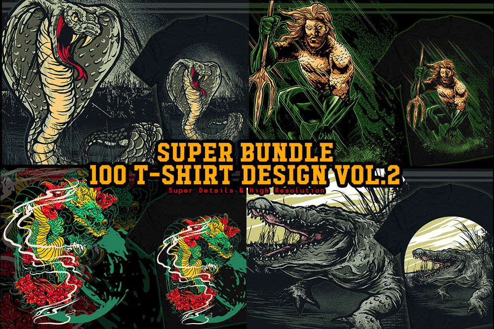 260+ Popular T-shirt Designs Bundle - Bundle 2