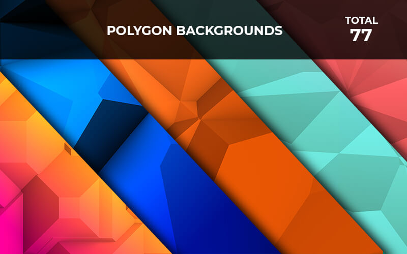 77 Polygon Backgrounds
