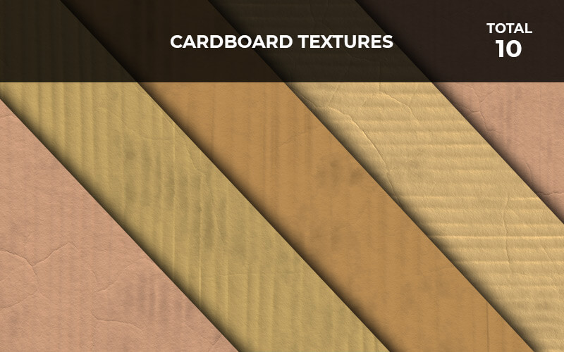 10 Cardboard Textures