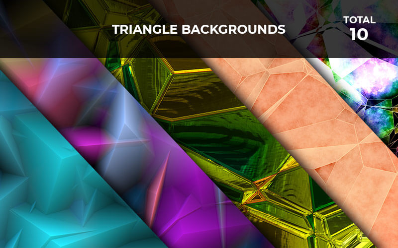 10 Triangle Backgrounds