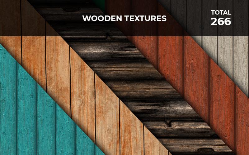 266 Wooden Textures
