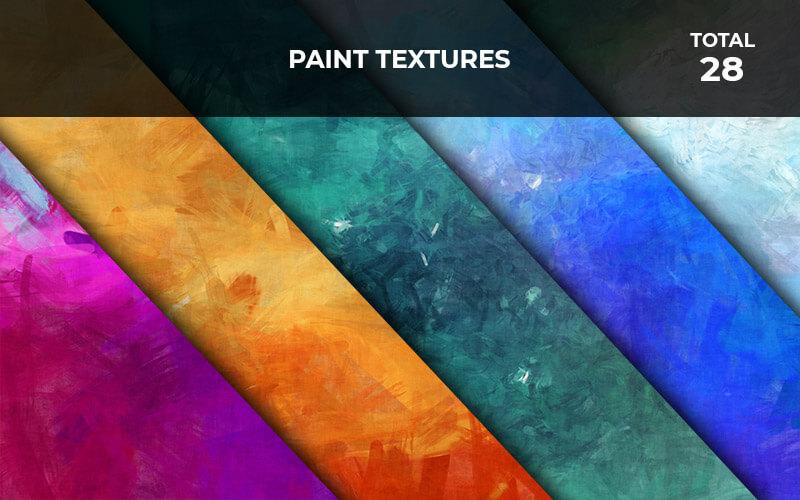 28 Paint Textures