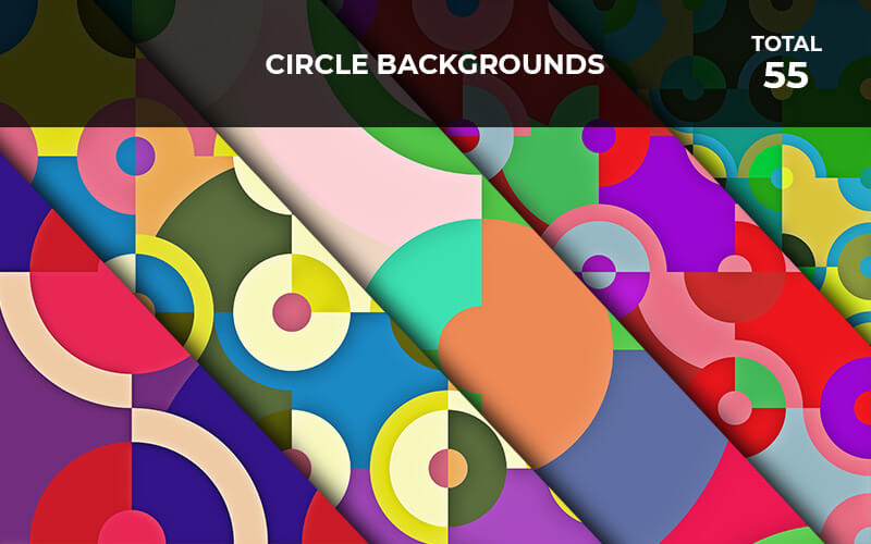 55 Circle Backgrounds