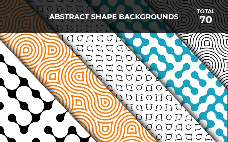 7o Abstract Shape Backgrounds