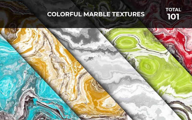 1o1 Colorful Marble Textures