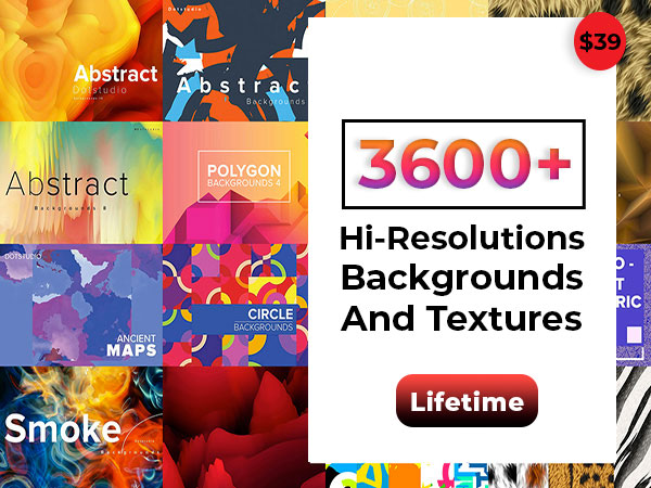A Bundle Of 3600+ Hi-Resolutions Abstract Backgrounds And Textures