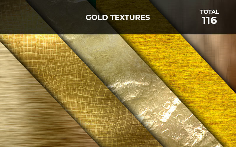 116 Gold Textures