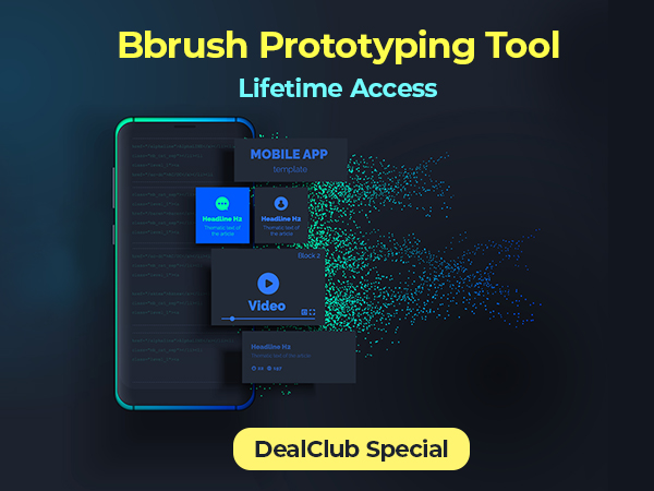 Bbrush For Highly Interactive Prototypes From Clickable Wireframes | DealClub