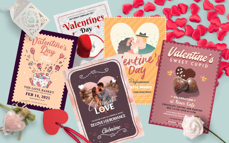 V-Day Special Business Flyer Designs Preview - 7