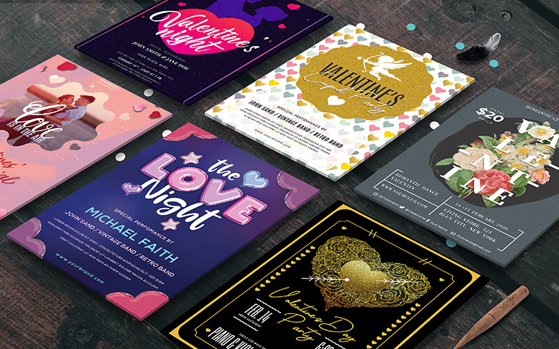 V-Day Special Business Flyer Designs Preview - 6