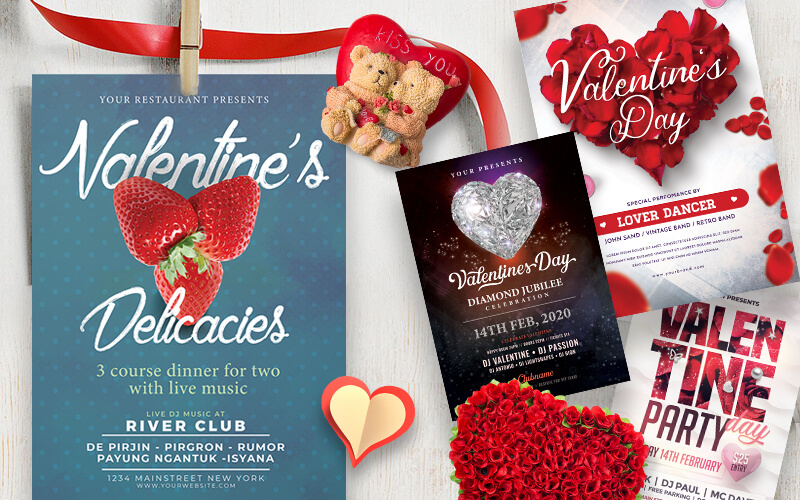 V-Day Special Business Flyer Designs Preview - 5