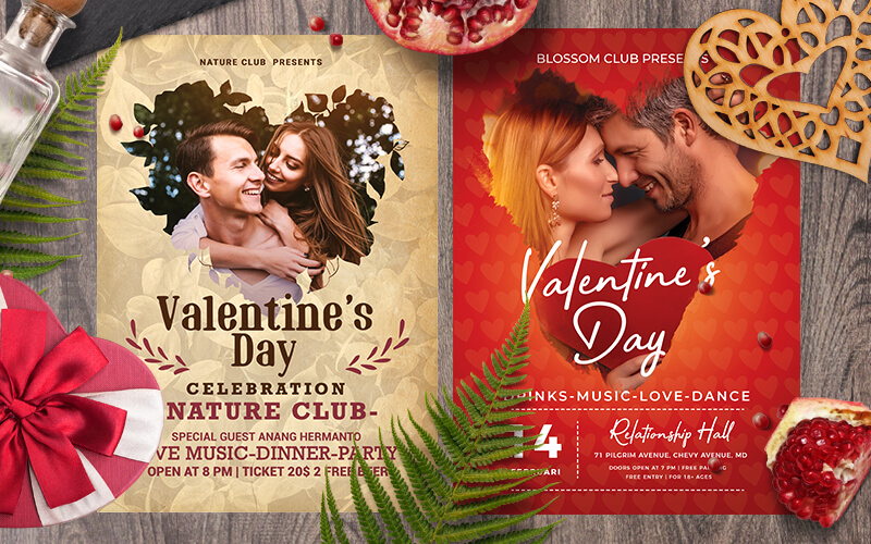 V-Day Special Business Flyer Designs Preview - 3