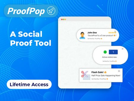 ProofPop - A Social Proof Tool For Every Business Needs | Lifetime