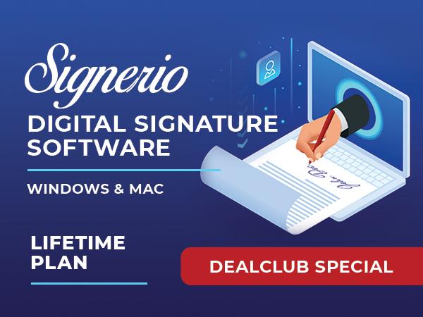 Signerio Digital Signature Software For Windows & Mac [Lifetime]