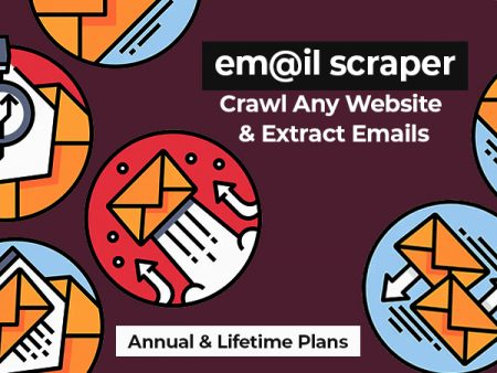 Crawl Any Website And Extract Emails With EmailScraper | Lifetime