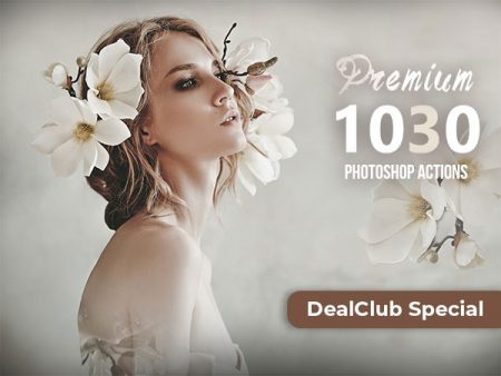 A Bundle Of 1030+ Premium Adobe Photoshop Actions | DealClub