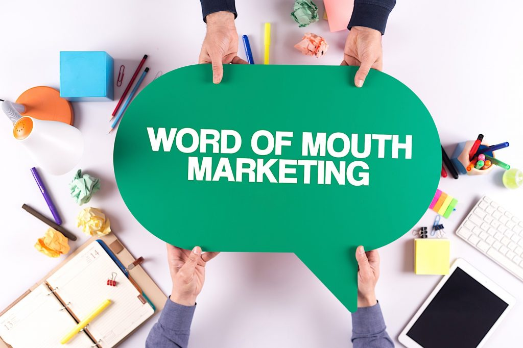 Word of mouth marketing feature image