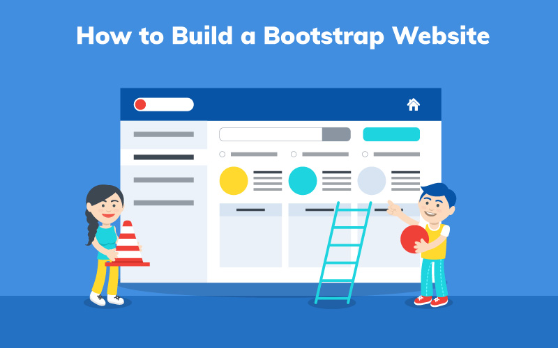 Guide to build bootstrap website