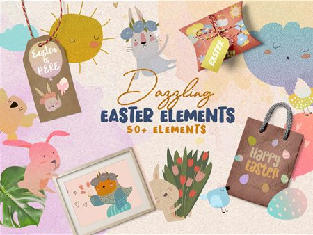 Dazzling Easter Elements Freebie Deal