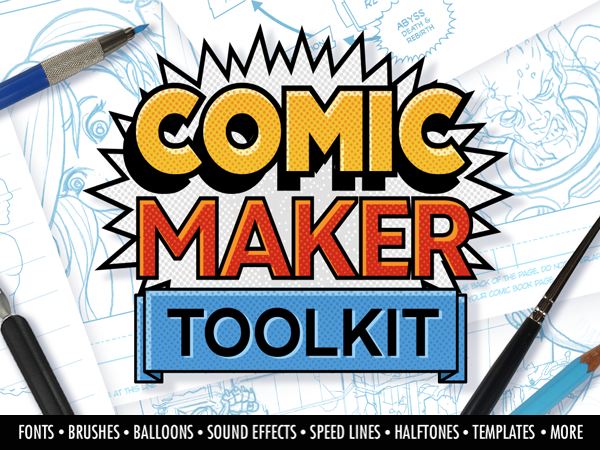 Comic Maker Toolkit Feature Image