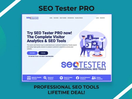 SEO Tester PRO - A Complete Set Of Professional Visitor Analytics & SEO Tools