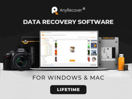 AnyRecover – The Best Mac & Windows Data Recovery Software In 2020
