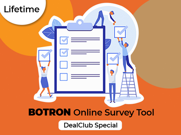 BOTRON – A Simple Yet Powerful Online Survey Tool For A Lifetime | DealClub
