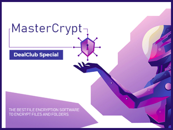 MasterCrypt - The Best Encryption Software With Lifetime Access | DealClub Special