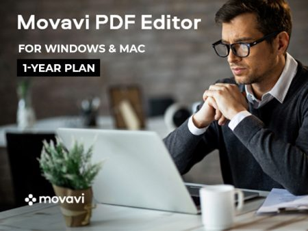 Simple, Affordable & Convenient Movavi PDF Editor For Windows & Mac
