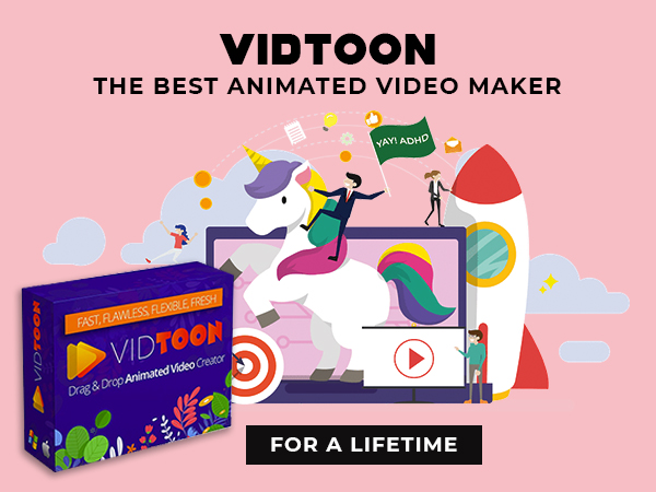 VidToon The Best Animated Video Maker With Drag & Drop Simplicity For A Lifetime