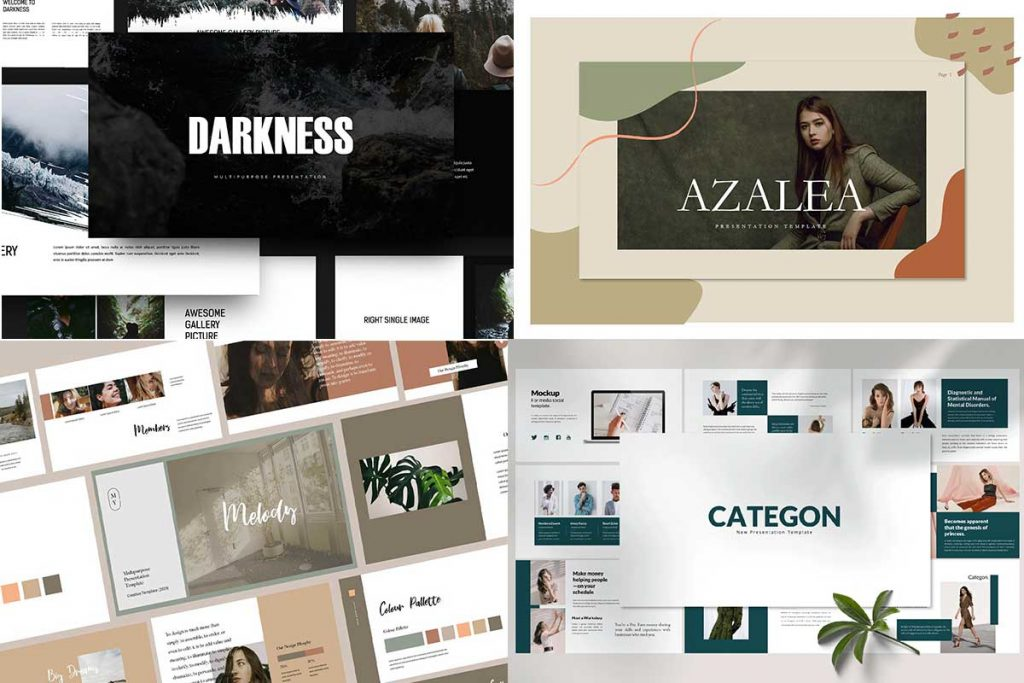 Presentation Templates for Google, Powerpoint and Keynote