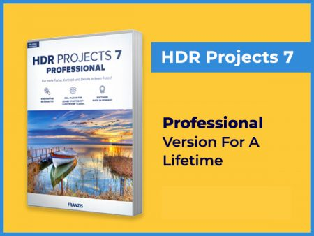 HDR 7 Pro Photo Editing Software